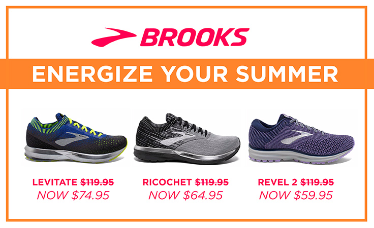 Save on the Brooks Energize Collection
