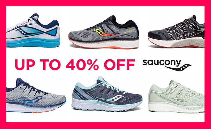 Saucony Running Shoes up to 40%