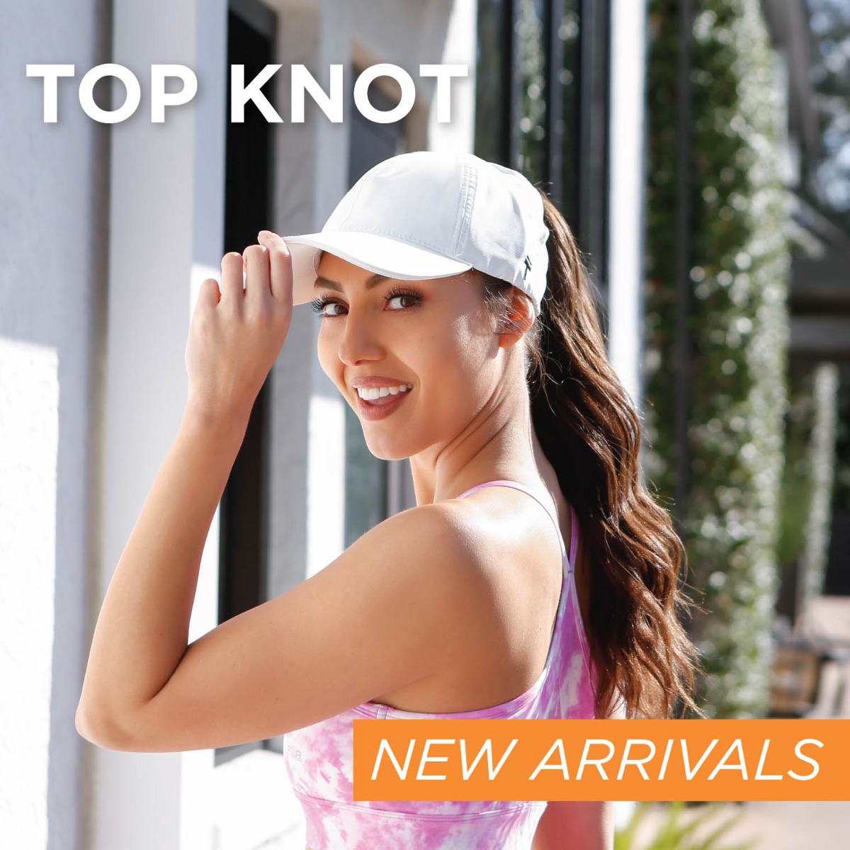 Top Knot Hat